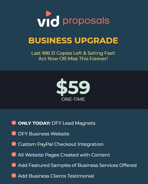 VidProposals Business